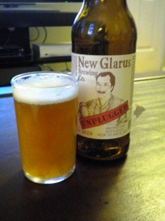 New Glarus Unplugged Imperial Saison