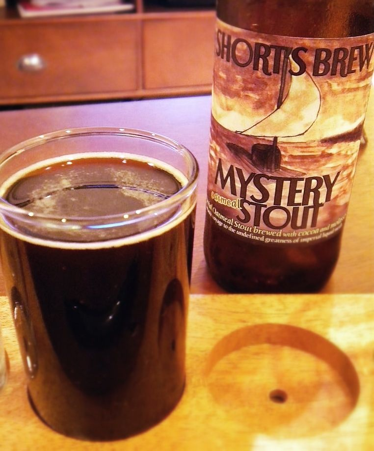 shorts mystery stout cellar