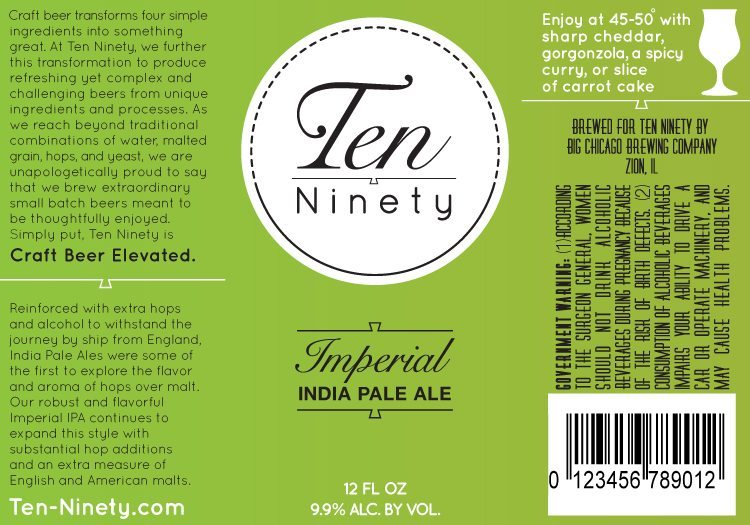 Ten Ninety Imperial India Pale Ale