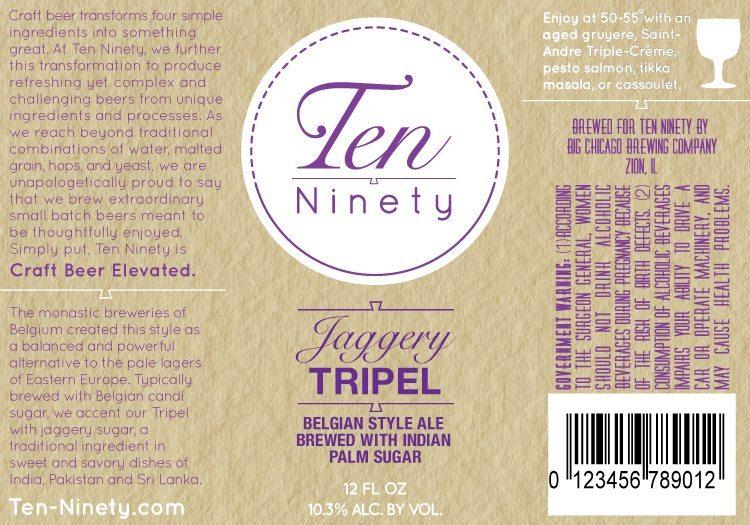 Ten Ninety Jaggery Tripel
