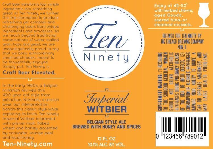 Ten Ninety Imperial Witbier