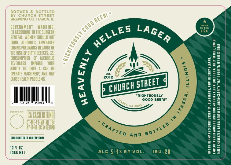 Church Street Heavenly Helles Lager