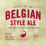 Goose Island Class of 88 Belgian Style Ale Label