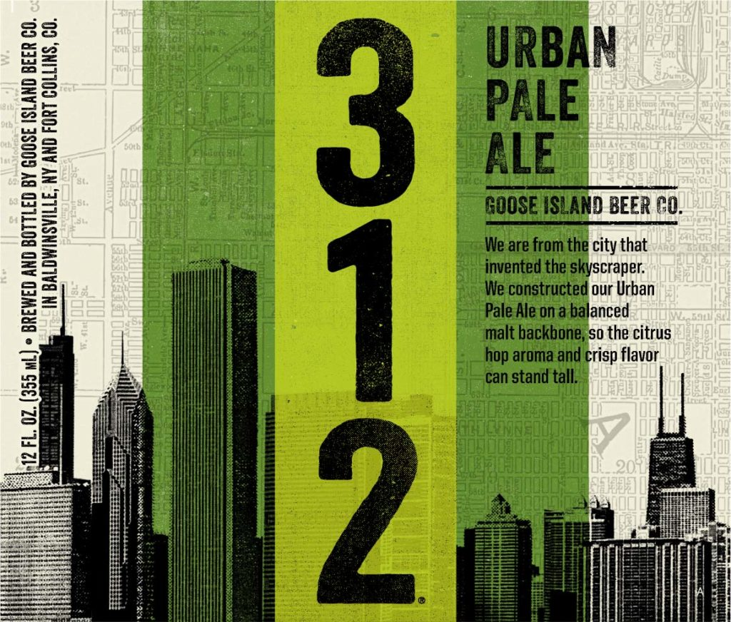 Goose Island 312 Urban Pale Label