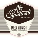 Ale Syndicate Omega Midnight Stout Label