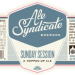 Ale Syndicate Sunday Session Label