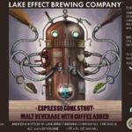 Lake Effect Espresso Gone Stout Label