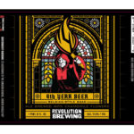 Revolution Brewing 4th Year Label