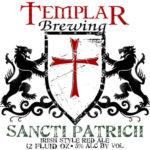 Templar Brewing Sancti Patricii irish Red Label