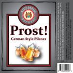 Von Jakob Prost! Pilsner Label