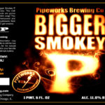 Pipeworks Bigger Smokey P Imperial Smoked Porter Label