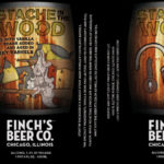 Finch's Beer Co. Stache in the Wood Label