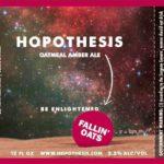 Hopothesis Falling Oats Oatmeal Amber Ale