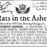 Off Color Three Floyds Rats in the Ashes Label
