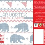 Two Brothers Polar Vortex Dunkel Lager Label