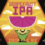Arcade Brewing Grapefruit IPA Label