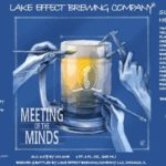 Lake Effect Meeting of the Minds Smoked Helles Lager Label