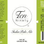 Ten Ninety IPA Label