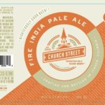Church Street Fire IPA Label