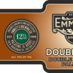 Emmett's Double Talk Double IPA DIPA Label