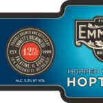 Emmett's Hoptweet Hopped Wheat Ale Label