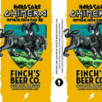 Finch's Hardcore Chimera Imperial India Pale Ale Label IIPA