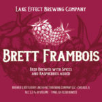 Lake Effect Brett Frambois Label