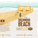 Temperance Greenwood Beach Ale with Pineapple Blonde Label