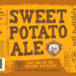 Bent River Sweet Potato Ale Label