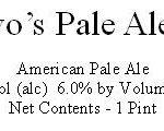 DeNovo's Pale Ale No. 1