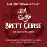 Lake Effect Brett Cerise Label