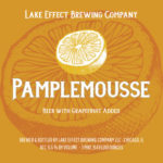Lake Effect Pamplemousse Label