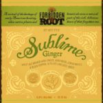 Forbidden Root Sublime Ginger Wheat Ale Label
