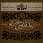 Forbidden Root Shady Character Porter Label