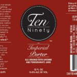 Ten Ninety Imperial Porter Label