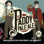 Wild Onion Paddy Pale Ale Label
