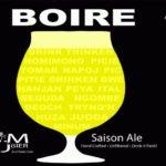 Zumbier Boire Saison Label