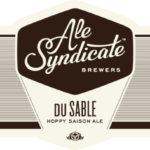 Ale Syndicate Du Sable Saison Label