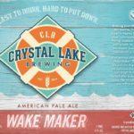 Crystal Lake Wake Maker APA Lake Maker