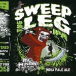Pig Minds Sweep The Leg IPA Label