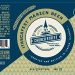Church Street Itascafest Marzen Label