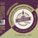 Church Street Pontificator Doppelbock Label