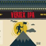 Destihl Vertex IPA Label