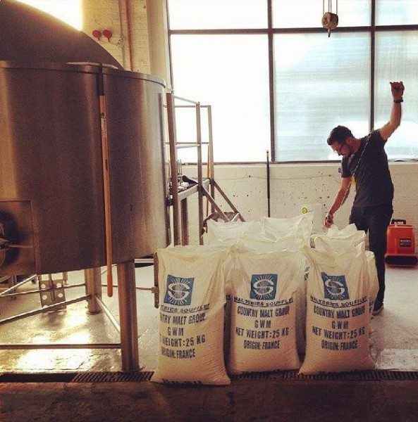 Ale Syndicate First Brew Day