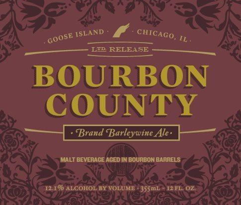 Goose Island Bourbon County Barleywine 2014 Label