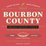 Goose Island Bourbon County Brand Coffee Stout 2014 Label