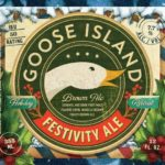 Goose Island Festivity Brown Holiday Christmas Ale Label