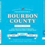 Goose Island Proprietor's Bourbon County Brand Stout 2014 Label