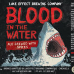 Lake Effect Blood in the Water Hibiscus Saison Label