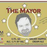51st Ward Zumbier The Mayor Cream Ale LAbel